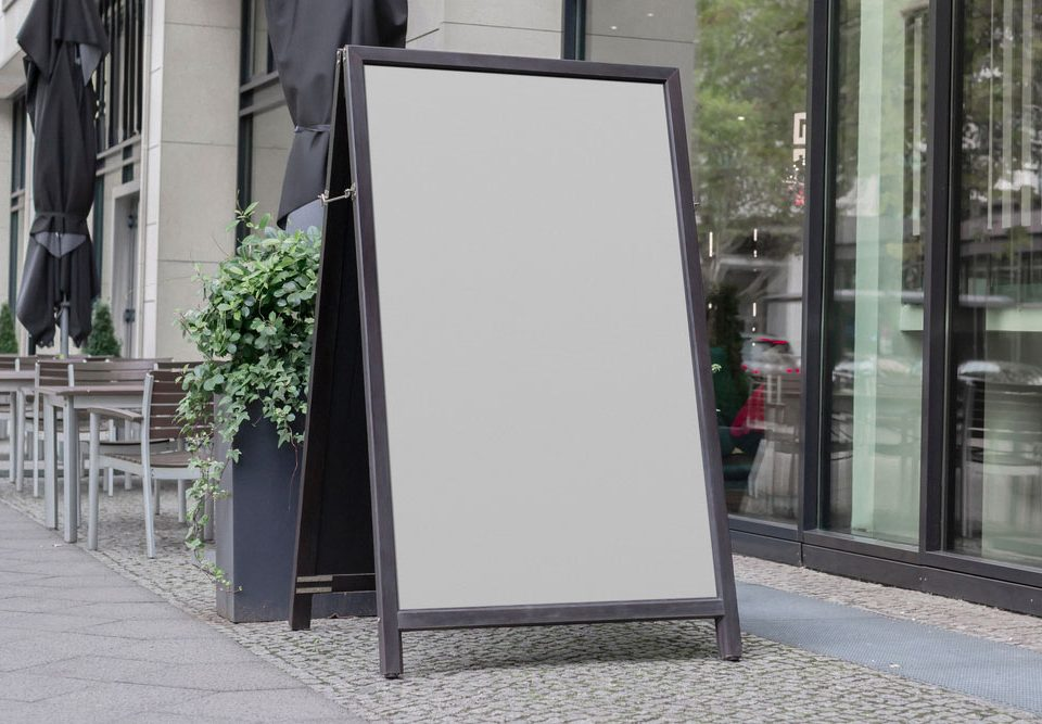Global-Signs---How-to-use-A-frame-signs-effectively